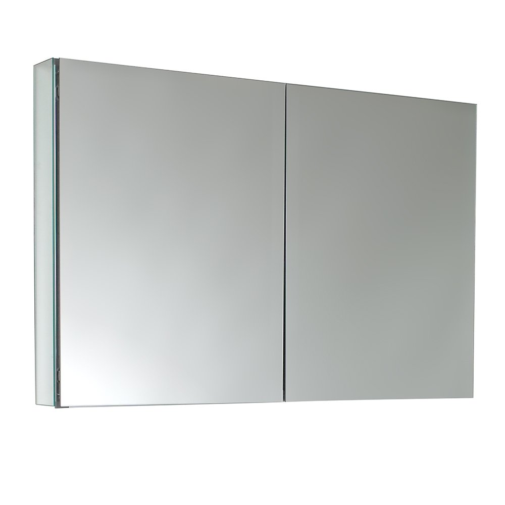amazoncom fresca bath fmc8010 40 wide bathroom medicine cabinet with mirrors home improvement
