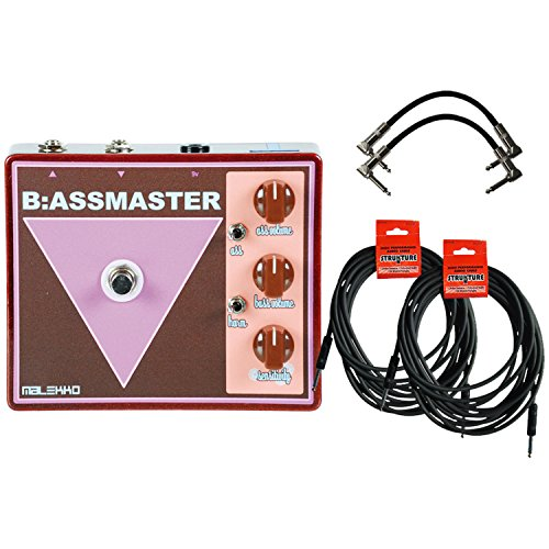 Malekko Barker B Assmaster Fuzz Pedal W  4 Guitar Cables