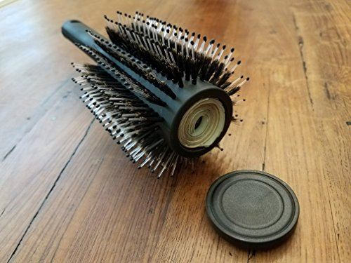 Diversion Safe Hair Brush by Stash-it   BONUS Smell Proof Bag   Can Safe to Hide Money, Jewelry, or Valuables with Discret Secret Removable Lid