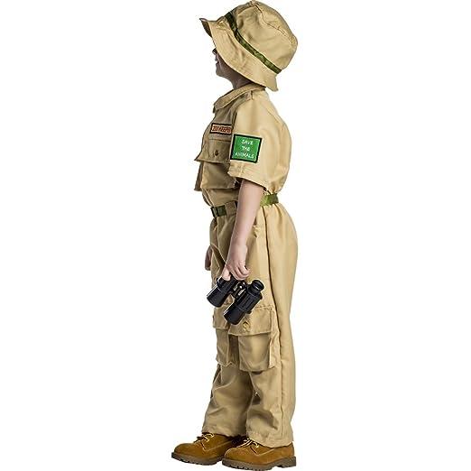 Dress Up America Zoo Keeper-Tan Medium 8-10 (34