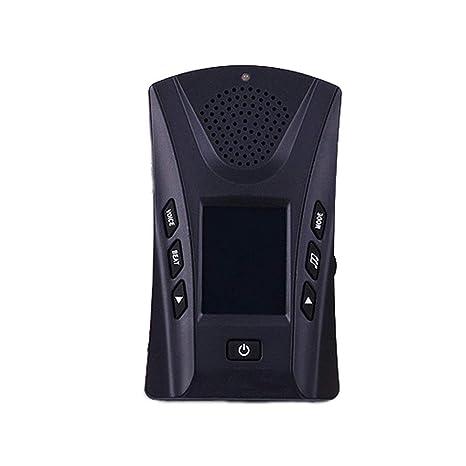 Sguan-wu 4 en 1 Guitarra digital Piano Metrónomo Sintonizador Termómetro Instrumento Accesorios - Negro