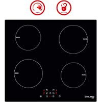 Induction Cooktop, Gasland chef IH60BF 24'' Built-in 4 Burner Induction Cooker, 220V Vitro Ceramic Surface Electric Cooktop, 24 Inch Induction Cooktop with 4 Burners, Kids Safety Lock, Easy To Clean
