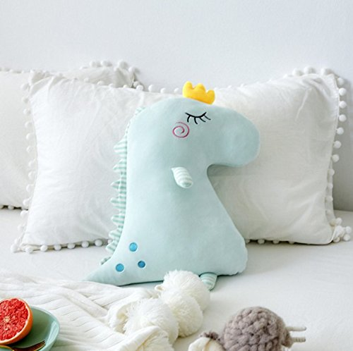 mywaxberry New Dinosaur Pillow Down Cotton Sleeping Doll Plush Toy Doll (blue) by mywaxberry (Image #1)