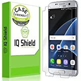 Galaxy S7 Edge Screen Protector, IQ Shield® LiQuidSkin (Case Friendly) Full Coverage Screen Protector for Galaxy S7 Edge HD Clear Anti-Bubble Film - with Lifetime Warranty