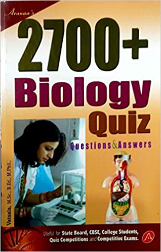 Buy 2700+ Biology Quiz - Questions & Answers Book Online at