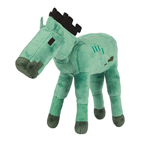 JINX Minecraft Zombie Foal Plush Stuffed Toy (Multi-Color, 7 Long)