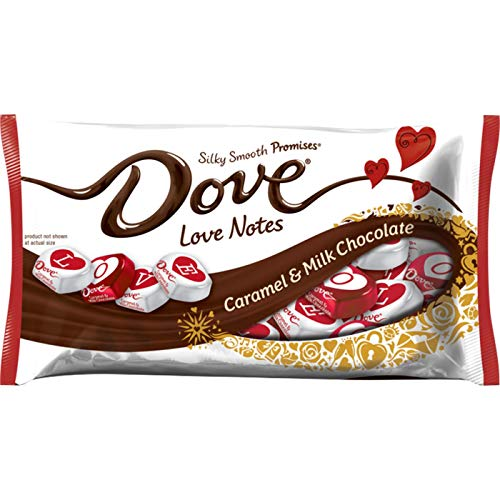Dove Valentine's Day Caramel and Milk Chocolate Love Notes - 8.87oz pack of ()