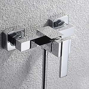 Accesorios de baño TuanduiTM - de latón de estilo contemporáneo (cromo)