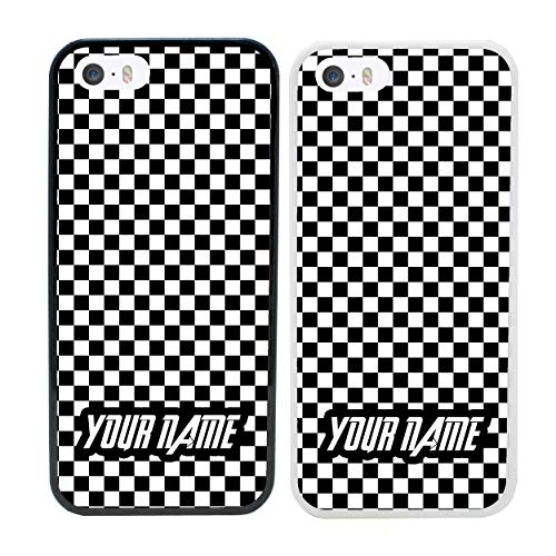 (Boy Racer Personalised Phone Case for Apple iPhone 6s Plus Smartphone Custom Cover Personal Your Name Bumper 5.5