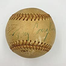 Tony Conigliaro Signed Baseball - Rare 1963 Single COA - JSA Certified - Autographed Baseballs
