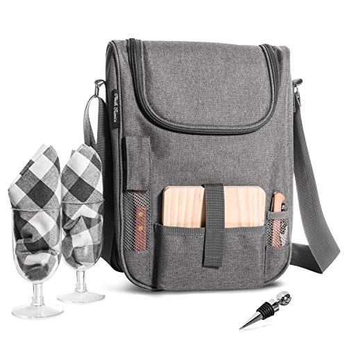 Insulated Travel Wine Tote