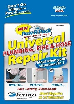 Fernco Inc. FP-FM3P1 Universal Plumbing, Pipe and Hose Repair Kit