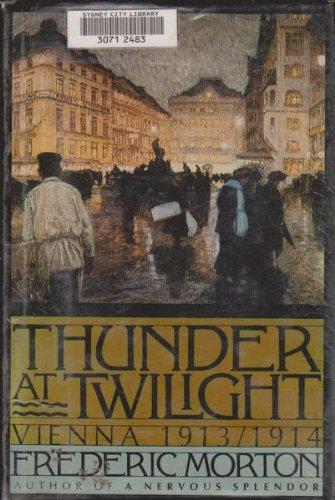 Thunder At Twilight  Vienna  1913 1914
