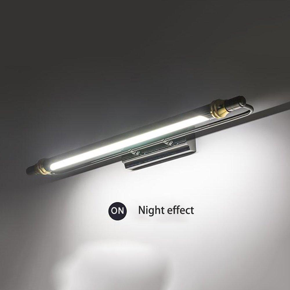 FEI LED Badezimmerspiegel Licht LED-Spiegel vorne Lampe wasserdicht Bad Wandleuchte (weißes Licht, warmes Licht) Wandleuchte (Farbe   Warmes Licht-66cm-11W)