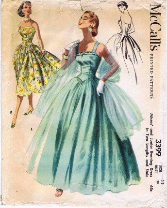 50s dress patterns mccalls - 9