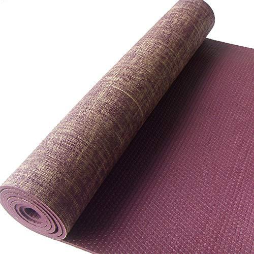 XUMI Mat Yoga, Antideslizante Yute Pvc Mat Yoga Mat ...