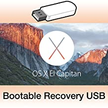 Mac OS X El Capitan 10.11.6 on Bootable USB Flash Drive for Installation or Upgrade