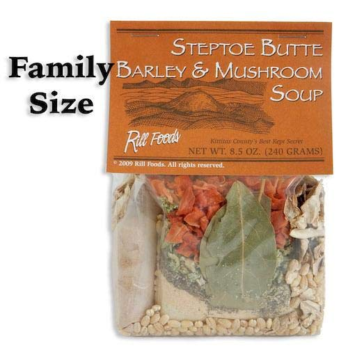 Steptoe Butte Barley & Mushroom Soup Mix Family Size 10 Cups