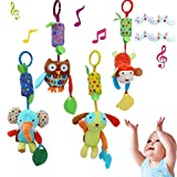 KELYNN Baby Soft Rattle Toy Infant Car Seat Crib Pram Stroller Baby Hanging