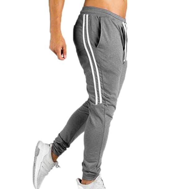 oneforus Traje de chándal para Hombre Parte Inferior Jogging ...