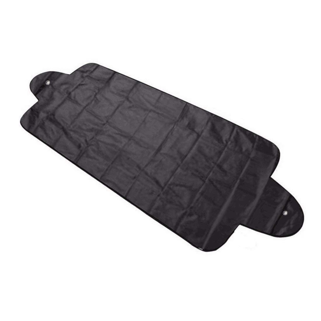 Formulaone Pare-Brise de Voiture Couverture UV proté ger Anti-Glace Neige Bouclier de Givre Protection Anti-poussiè re Pare-Soleil Pare-Brise de Voiture - Noir