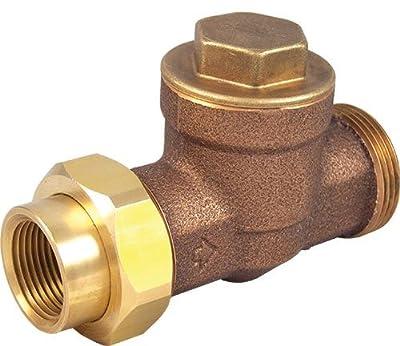 "Cash Acme 24396 1"" Pressure Regulator with EB25-U Single Union Threaded Contractor Kit"