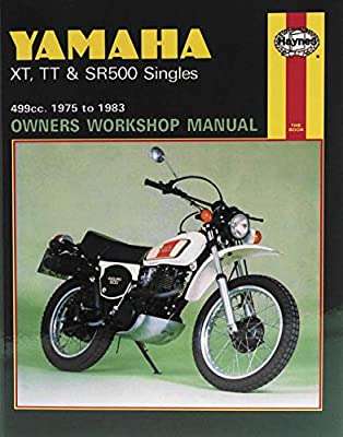 Haynes Manuals N/Amanual Yam Xr/Tt/Sr500 75 81 M342 New