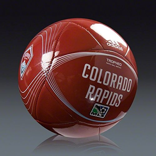 fan products of Colorado Rapids Adidas Tropheo MLS Soccer Ball. Youth League Size #4 (Ages 8-12). Match Ball Replica. Brand New! A Quality Ball.