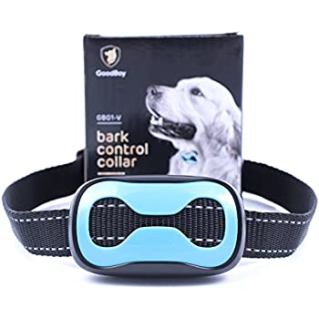 Dog Barking Collar For Small Medium And Large Dogs You Can Control Your Pet Unwanted Barking With This Safe GoodBoy Vibrating Anti Bark Training Device ( 8 + lbs )