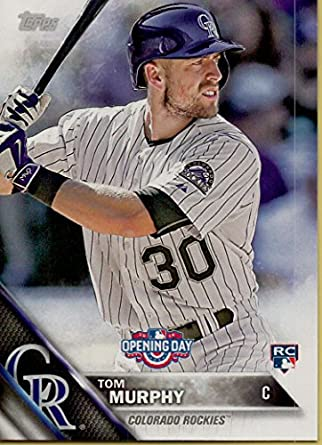 Tom Murphy Collectible Baseball Card 2016 Topps Opening Day