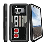 MINITURTLE Case Compatible w/ Samsung Galaxy S8 Active SMG892A Phone Case[ NOT FOR REG S8] Phone Case for S8 ACTIVE, MINITURTLE Clip Armor Hybrid Holster Game Controller Retro Review