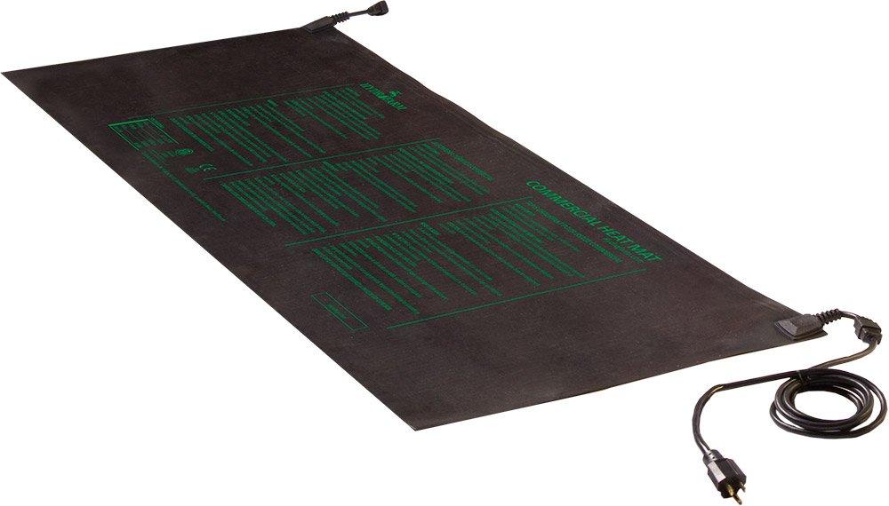 Hydrofarm 45W 60 by 21-Inch Seedling Heat Mat with 6-Feet Cord MTMDU