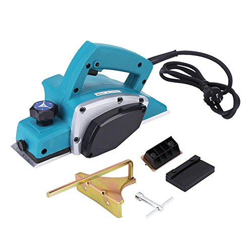 Electric Wood Hand Planer,110V Electric Wood Planer Door Plane Hand Held With 3-1/4 planer Woodworking Hand Surface by GOTOTOP