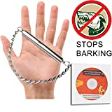 Ortz Dog Training Whistle to Stop Barking [FREE BONUS DVD + TRAINING GUIDE INCLUDED] Bark Control for Dogs - Ultrasonic Patrol Sound Repellent Repeller - Silver Training Deterrent [ULTRA SILENT]
