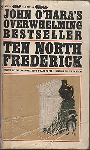 Joomla ebook gratis download Ten North Frederick B000DEMKRY PDF PDB