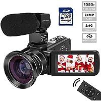 Video Camera Camcorder MELCAM HD 1080P Digital YouTube...