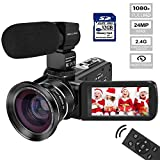 Best Video Cameras - Video Camera Camcorder MELCAM HD 1080P Digital YouTube Review
