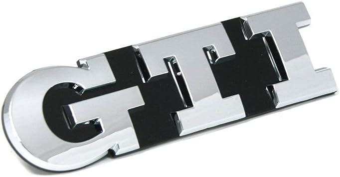 5g0853679afdpj Schriftzug Gti Vorn Kühlergrill Emblem Chrom Auto