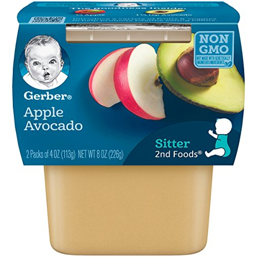 Gerber Purees Foods Apple Avocado product image