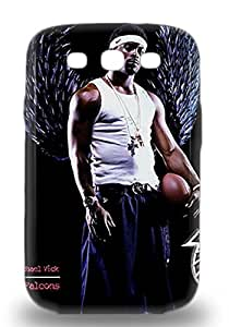 Galaxy S3 Case Cover NFL Philadelphia Eagles Michael Vick #7 Case Eco Friendly Packaging ( Custom Picture iPhone 6, iPhone 6 PLUS, iPhone 5, iPhone 5S, iPhone 5C, iPhone 4, iPhone 4S,Galaxy S6,Galaxy S5,Galaxy S4,Galaxy S3,Note 3,iPad Mini-Mini 2,iPad Air )