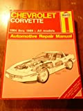 Haynes Chevrolet Corvette Owners Workshop Manual, No. 1336, J. H. Haynes and M. Stubblefeld, 1850106355