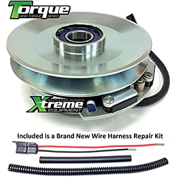 Lawn Mowers w/ Wire Harness Repair Kit !! PTO Blade Clutch For Toro on wire lamp, wire cap, wire connector, wire sleeve, wire leads, wire ball, wire nut, wire holder, wire clothing, wire antenna,