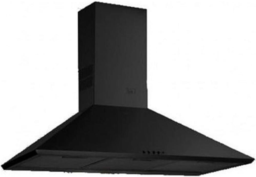 Teka DBB 60/70/90 - Campana (Canalizado/Recirculación, 440 m³/h, Montado en pared, Negro, Giratorio, Metal): Amazon.es: Grandes electrodomésticos