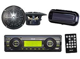 Indash Marine Radio 200W SD Card USB Input 4\
