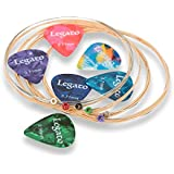 Acoustic Guitar Strings Beginner to Pro Level Medium 13-54 (2 Pack) Nano-Coated 85/15 Bronze Bundle