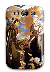 Galaxy S3 EJQnLuc6159gxWat Berserk Tpu Silicone Gel Case Cover. Fits Galaxy S3
