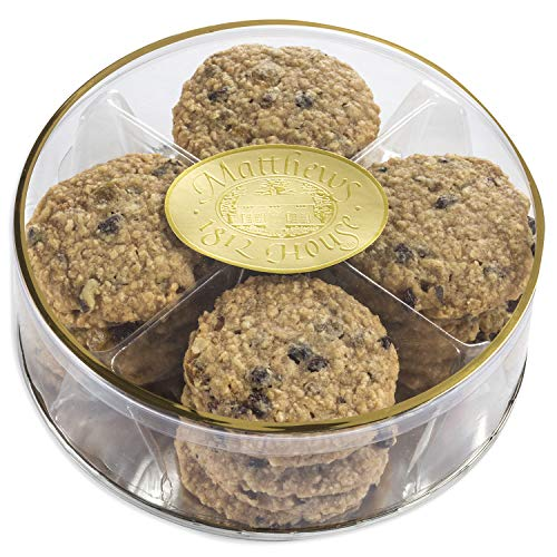 Matthews 1812 House Gourmet No Sugar Added Oatmeal Currant Cookies