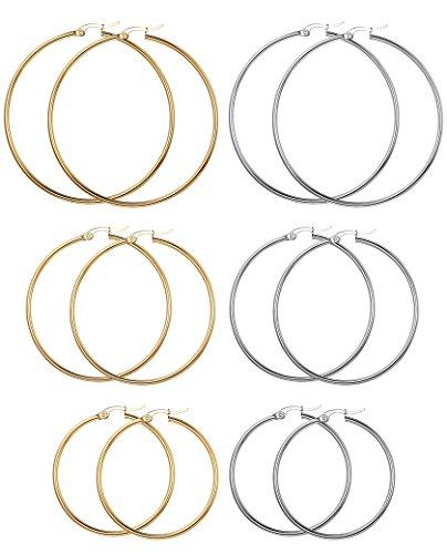 FIBO STEEL Stainless Earrings 15 60mm