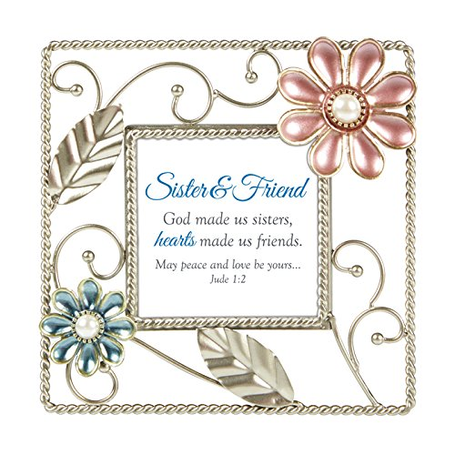 US Gifts Sister & Friend - Jude 1:2-6'' SQ Framed Tabletop