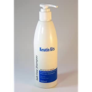 Brazilian Keratin Salt-Free Aftercare Shampoo 300ml